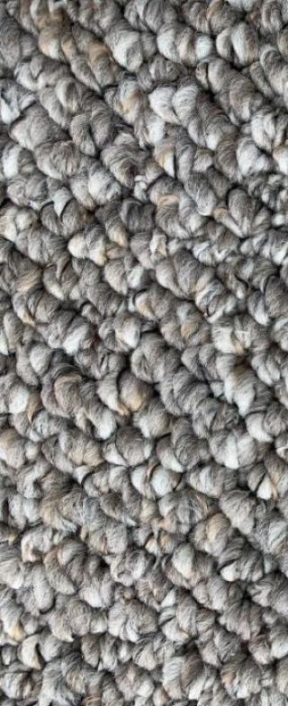 Vopi koberce Běhoun na míru Wellington šedý - šíře 40 cm s obšitím Šedá