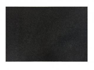 Vopi koberce Čistící zóna Polo - Rozměr na míru cm Černá