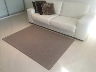 Vopi koberce Kusový koberec Astra béžová - 57x120 cm