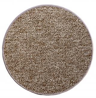 Vopi koberce Kusový koberec Astra béžová kruh - 100x100  kruh cm