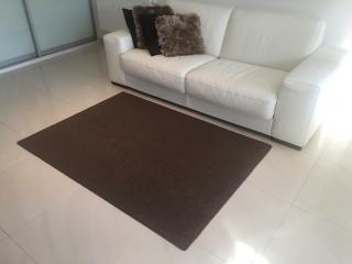 Vopi koberce Kusový koberec Astra hnědá - 57x120 cm