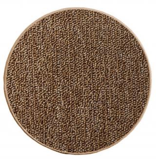 Vopi koberce Kusový koberec Astra hnědá kruh - 57x57  kruh cm