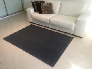Vopi koberce Kusový koberec Astra šedá - 57x120 cm