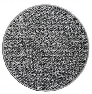 Vopi koberce Kusový koberec Astra šedá kruh - 100x100  kruh cm