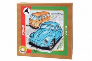 Vw brouk minibus set na klíček kov v krabičce kovap