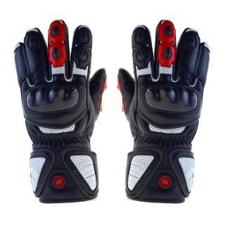 Vyhřívané moto rukavice Glovii GDB černá - XL