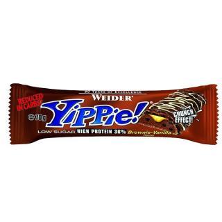 WEIDER Yippie! Bar Brownie-Vanilla tyčinka 70 g