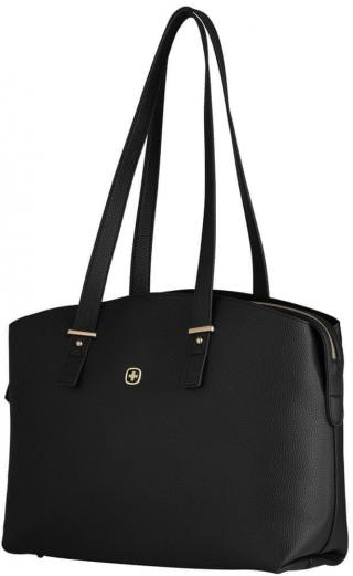 Wenger ROSAELLI - 14″ dámská kabelka na notebook s pouzdrem 606975, černá / floral