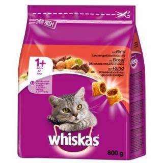 Whiskas 1  Hovězí - 14 kg