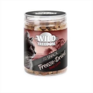 Wild Freedom Freeze-Dried Snacks - hovězí játra - výhodné balení 3 x 60 g