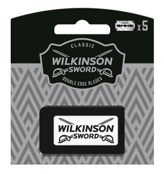 Wilkinson Sword Náhradní žiletky Double Edge Blades 5 ks