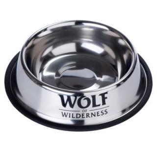 Wolf of Wilderness protiskluzová miska z nerezové oceli - 850 ml, Ø 23 cm