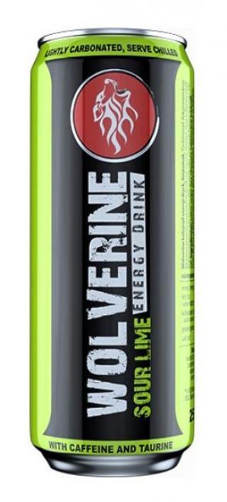 Wolverine Energy Drink Limetka 250ml