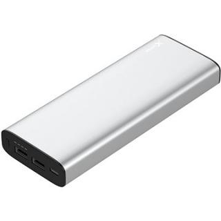 XLAYER Powerbank PLUS MacBook 20100mAh stříbrná