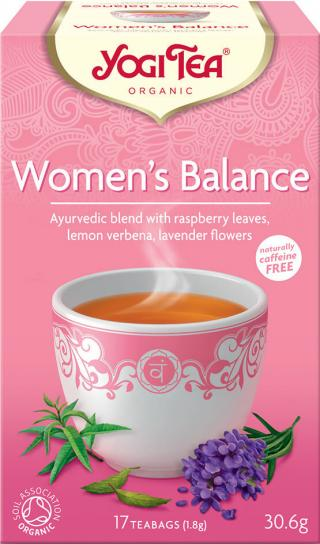 Yogi Tea Bio Rovnováha ženy 17x1,8g,Yogi Tea Bio Rovnováha ženy 17x1,8g