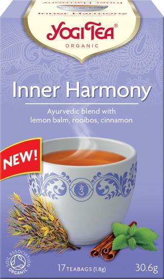 Yogi Tea Bio Vnitřní harmonie 17x1,8g,Yogi Tea Bio Vnitřní harmonie 17x1,8g