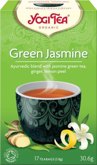 Yogi Tea Bio Zelený jasmín 17x1,8g,Yogi Tea Bio Zelený jasmín 17x1,8g