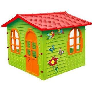 Zahradní domek s okny a dveřmi