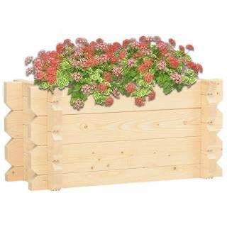 Zahradní truhlík 100x50x47,3 cm smrkové dřevo Dekorhome