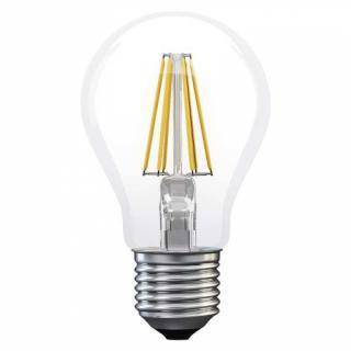 Žárovka LED EMOS Filament klasik, 6W, E27, neutrální bílá