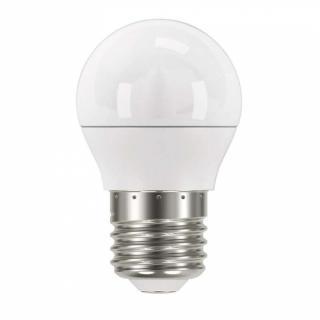 Žárovka LED EMOS mini globe, 6W, E27, neutrální bílá