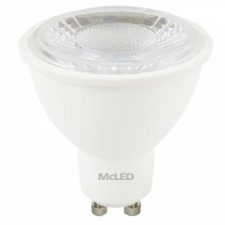 Žárovka LED McLED bodová, 5W, GU10, teplá bílá