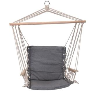 Závěsné houpací křeslo Comfortable šedá, 100