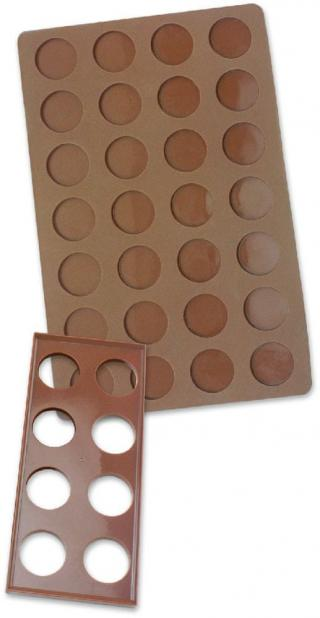 Zenker Podložka na pečení makronek, silikon - zánovní
