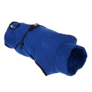 Župan pro psy z mikrovlákna - L: cca. 73 cm délka zad