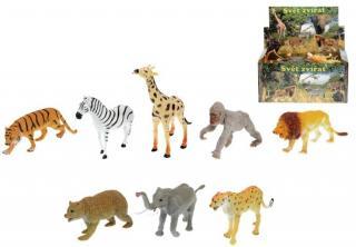 Zvířátka safari  13-20 cm 8 druhů